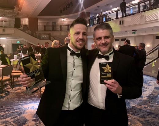 Fleet News Awards 2020 Group Fleet Manager, Shaun Atton (l) and Workshop Supervisor, Paul Bicknell (r).jpg